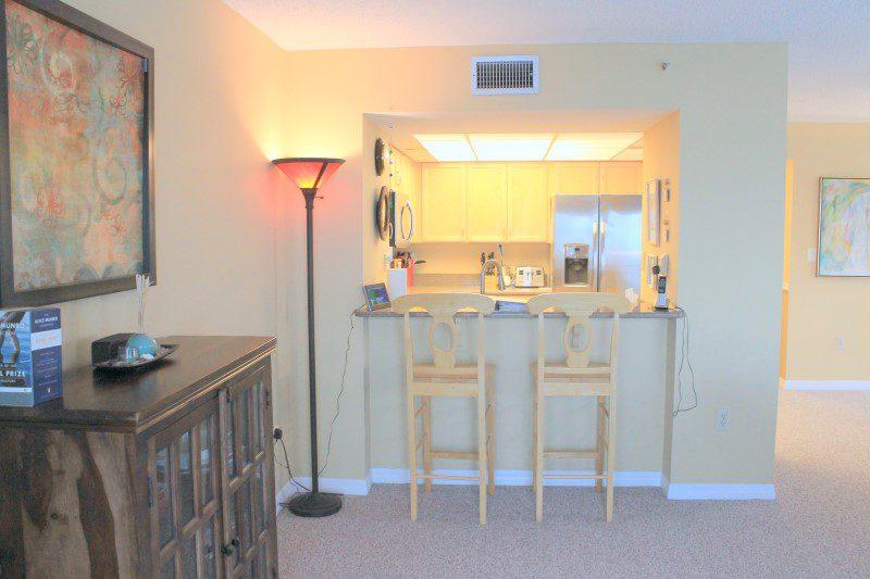 Bar Area Looking Into Kitchen (Custom)