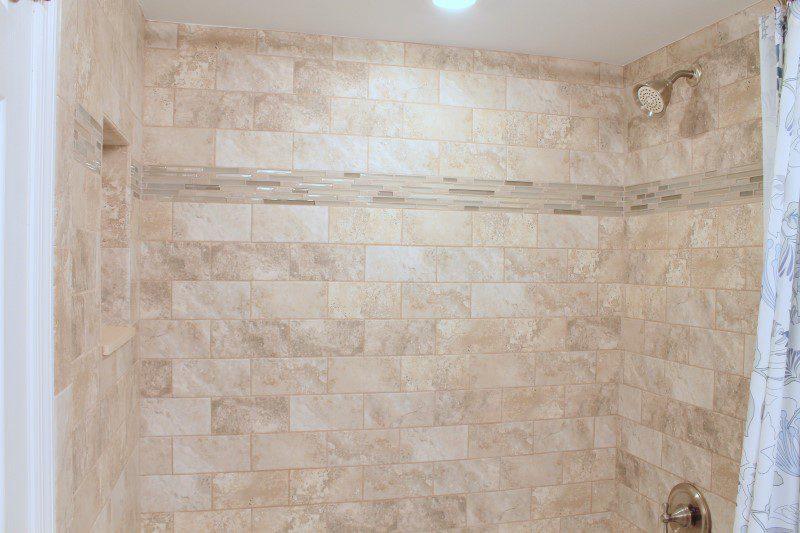 Guest Bathroom Shower Surround (Custom)