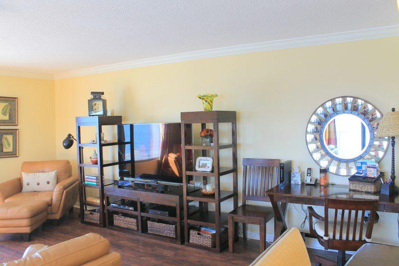 Living Room TV And Desk (Custom)