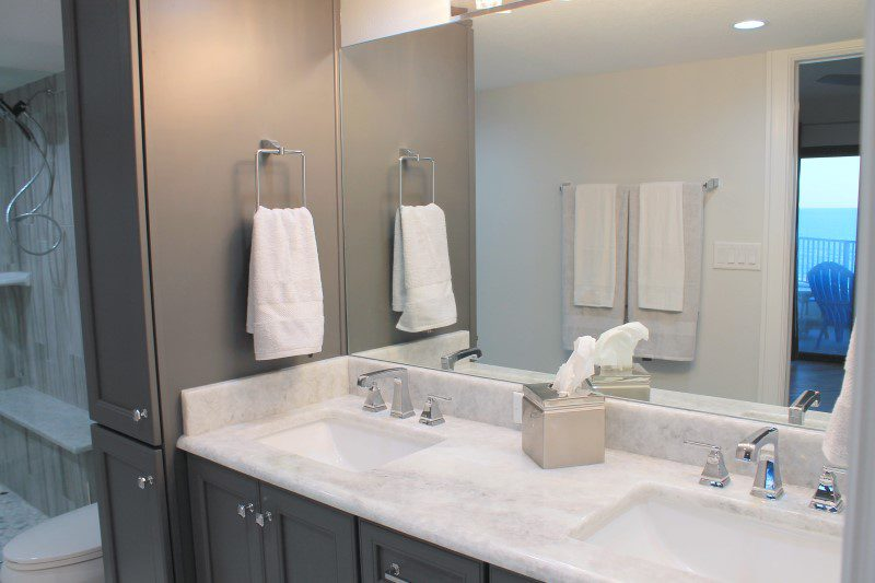 Master Bathroom Double Sink (Custom)