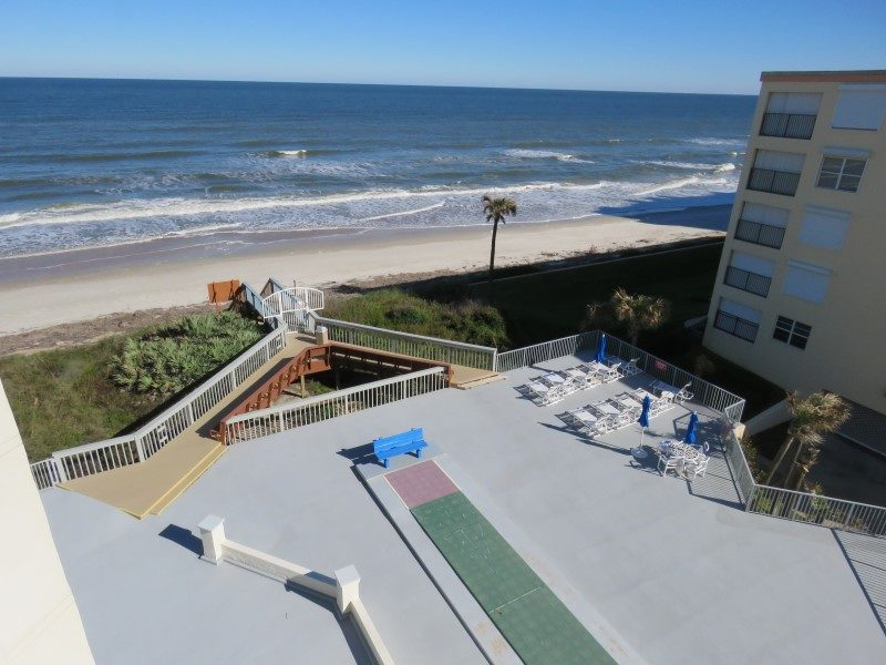 View Of Beach From Balcony (Custom)