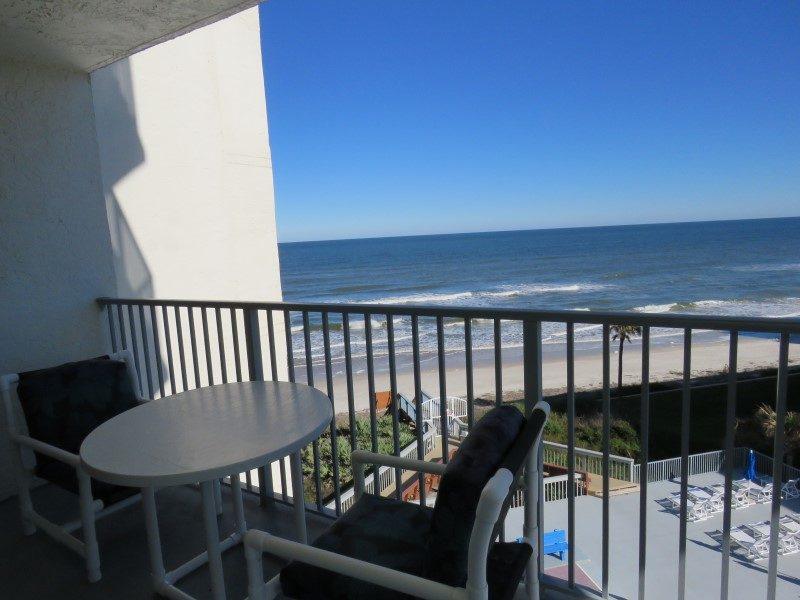View Of Ocean From Living Room Balcony (Custom)