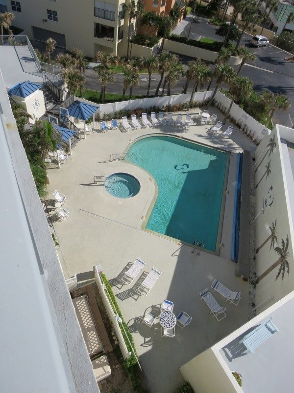 View Of Pool From Master Balcony (Custom)